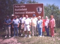 DMWV members at Palo Alto Battlefield, 1999