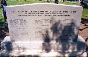 Army of Occupation Monument
