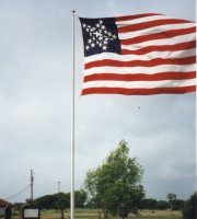 Fort Brown flagpole